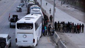 «Умеренная оппозиция» продолжает покидать восточные районы Ярмука