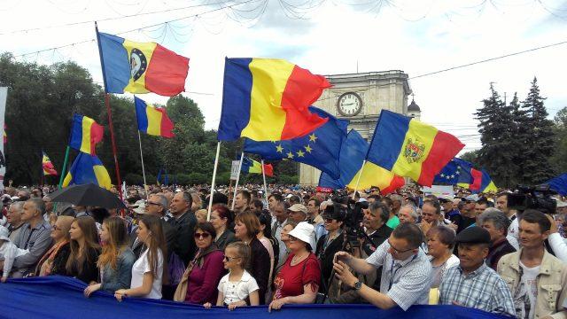 ВКишиневе задержаны неменее 20 участников митинга