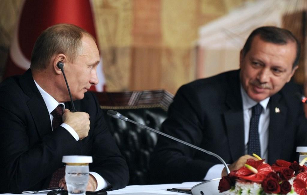 Путин иЭрдоган обсудили саммит РФ  - Турция— Иран поСирии