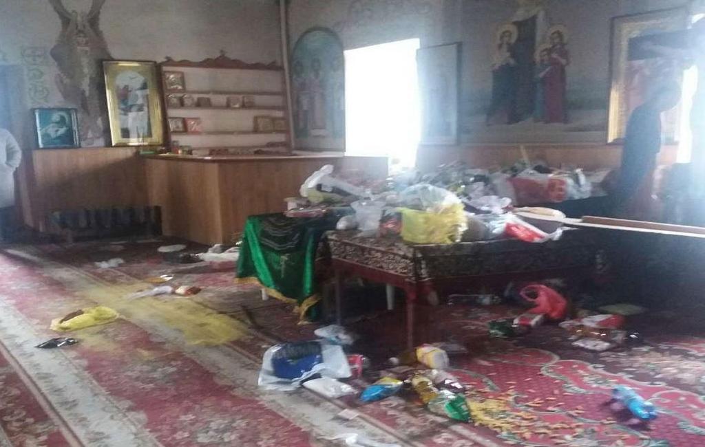 ВОдесской области осквернили храм УПЦ Московского патриархата
