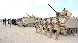 Восемь человек погибли на Синае за прошедшую неделю