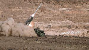 СМИ: Саудовские средства ПВО сбили ракету хуситов