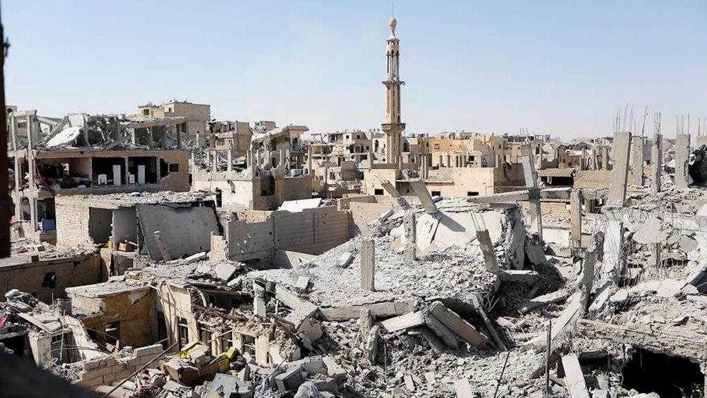 ВСирии ополчение расстреляло военную базу США