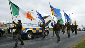 Митингующие ирландские республиканцы атаковали полицию