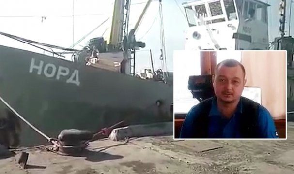 Генпрокуратура: Суд вХерсоне неотпускал капитана крымского судна «Норд»