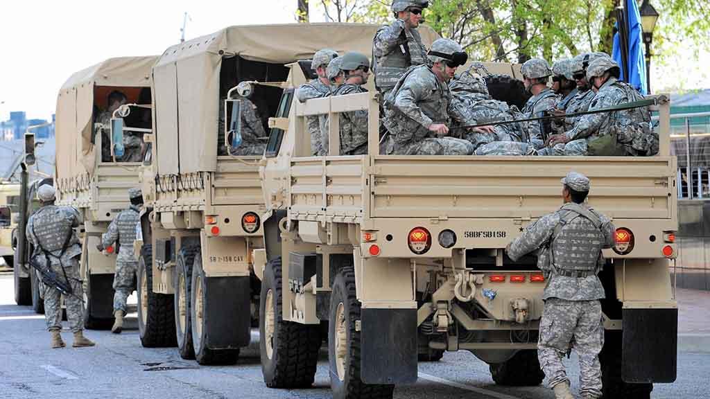 Трамп отправит награницу сМексикой до4 тыс. гвардейцев