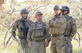 турецкие солдаты в Хаме