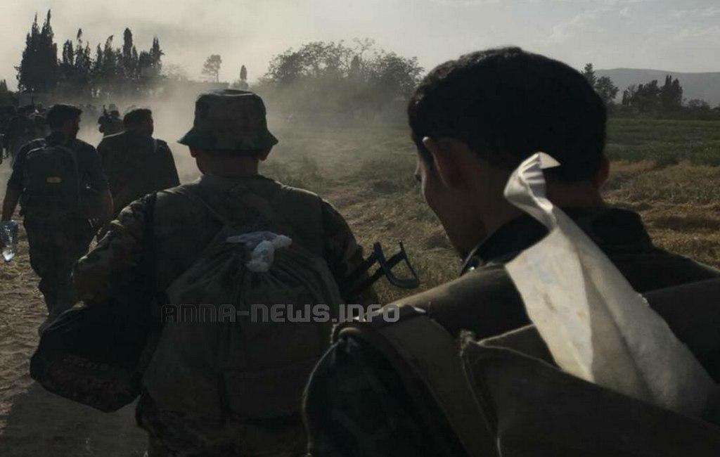 Скатертью дорога: боевики «Джейш аль-Ислам» убегают изгорода Дума