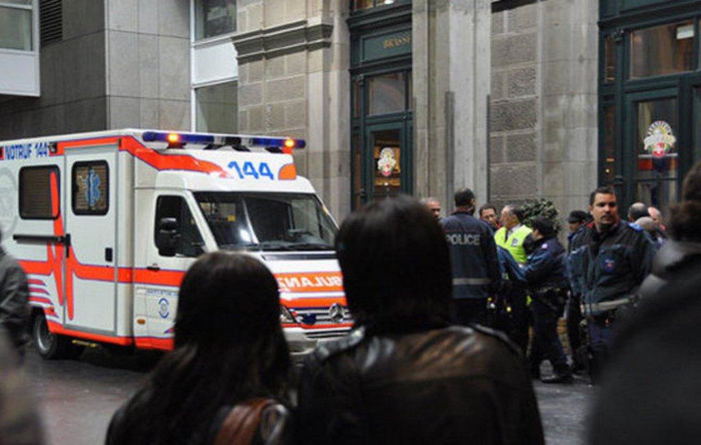 При взрыве баллона сгазом вЖеневе пострадали 15 человек
