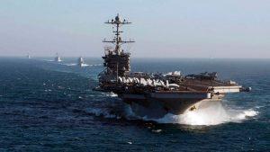 Ударная группа ВМС США направляется на Ближний Восток
