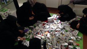 Генштаб: в Сирии у террористов обнаружены лекарства по линии ВОЗ