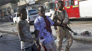 На стадионе в Сомали прогремел взрыв