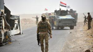 Иракская армия зачищает границу с Сирией