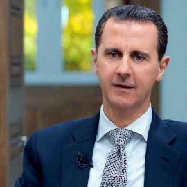 Башар Асад выступил с первым заявлением после ударов по Сирии