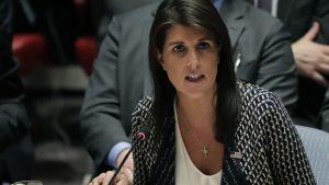 Никки Хейли: США готовы повторно ударить по Сирии