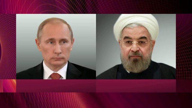 Путин иРухани пришли кединой оценке авиаудара поСирии