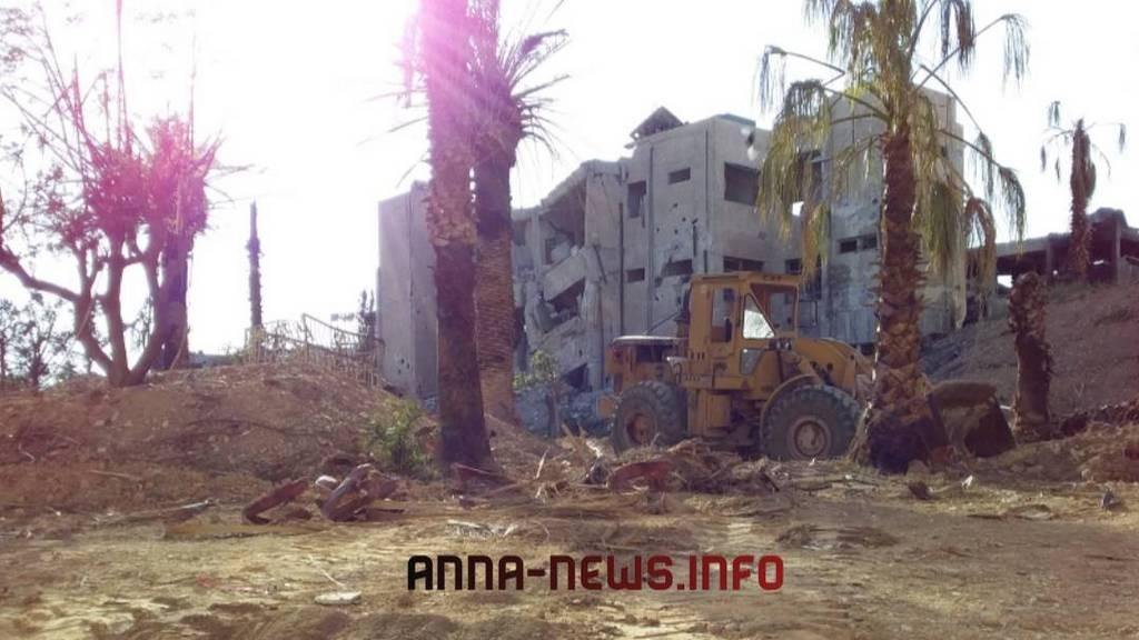 Боевики «Джейш аль-Ислам» начали покидать сирийский город Думейр