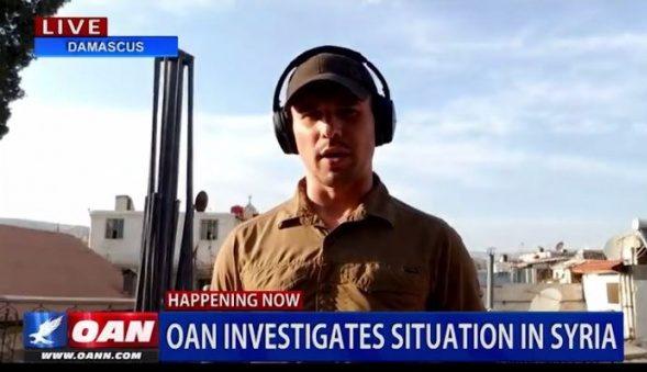 Британский репортер разоблачил «химатаку» вСирии— Пыль вместо газа