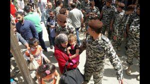 Сирийские беженцы возвращаются домой из Ливана