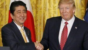 Трамп намерен добиться справедливого баланса в торговле с Японией