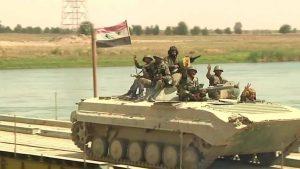 Достигнуто перемирие между САА и боевиками в Хаме