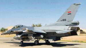ВВС Ирака показали уничтожение позиций ИГ на востоке Сирии