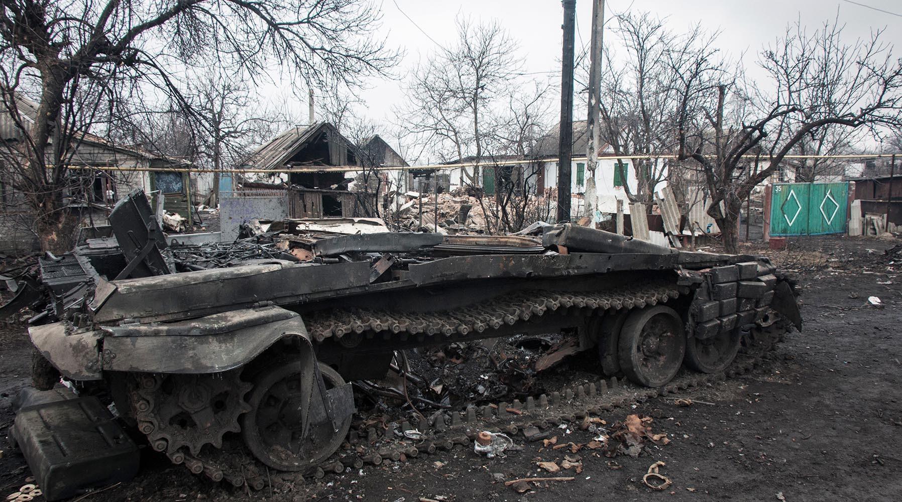 Минобороны ДНР обвинило военнослужащих НАТО вобстреле Ясиноватой