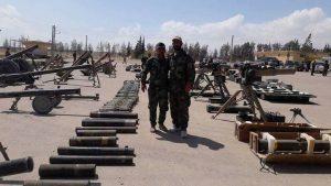 «Свободная Сирийская армия» сдается в Восточном Каламуне