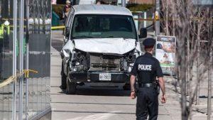 Основная версия наезда на людей в Торонто — теракт