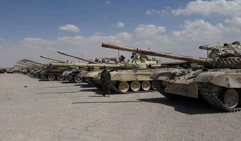 Правительственные войска Сирии взяли под контроль территорию Восточного Каламуна