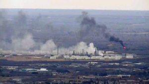 На нефтезоводе в американском штате Висконсин прогремел взрыв