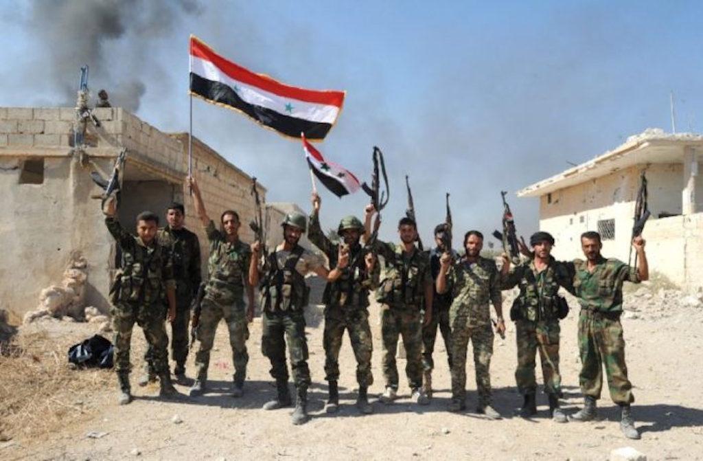 Сирийские военные окружили боевиков ИГ* впоселении кюгу отДамаска