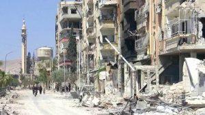 Сводка событий в Сирии и на Ближнем Востоке за 27 апреля 2018 года