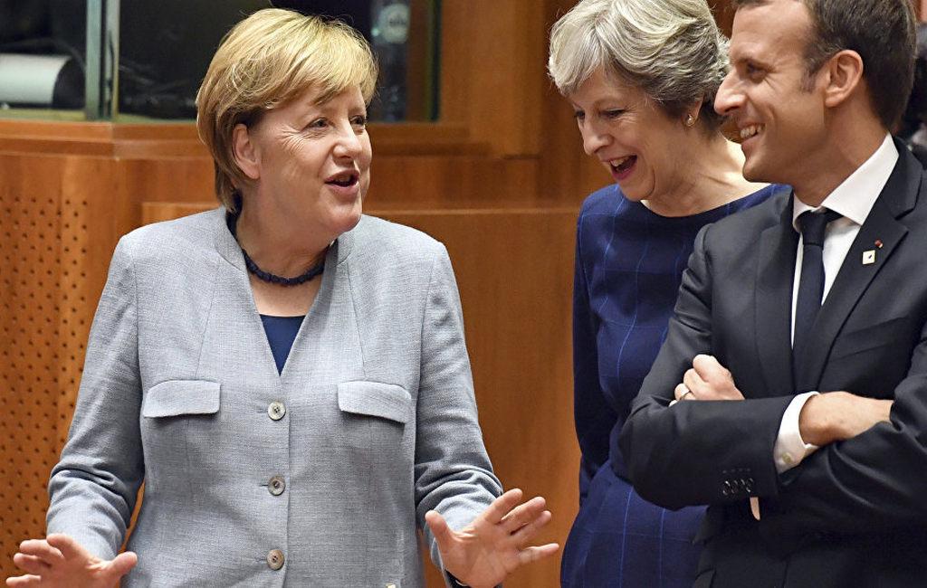 Макрон, Меркель и Мэй обсудили новые пункты для «ядерной сделки» с Ираном