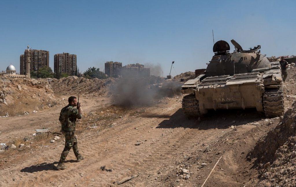 Достигнута договоренность овыводе боевиков изДамаска вИдлиб