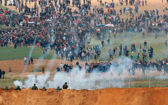 Награнице Израиля ссектором Газа возобновились столкновения, необошлось без жертв