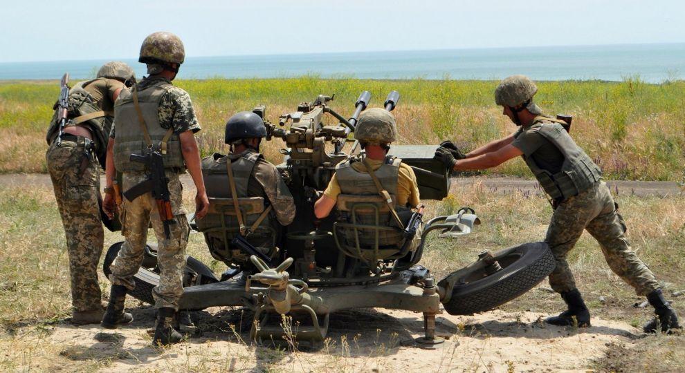 Киев переводит конфликт вДонбассе вгорячую стадию