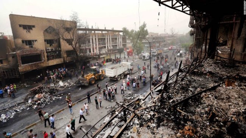 ВВС Ирака нанесли удар попозициям главарейИГ вСирии