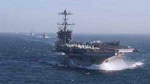 Авианосная группа США начала операцию по «ликвидации» ИГИЛ в Сирии