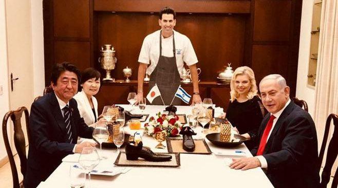 Собственный кулинар Нетаньяху обидел Абэ вовремя обеда политиков
