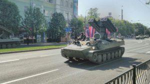 На парад в Донецк прибыла «представительница» официального Киева