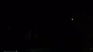 Работа ПВО в Дамаске 10.05.2018