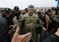Боевик из «Азова» публично проигнорировал Порошенко