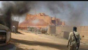 Ливийские племена атаковали Себху