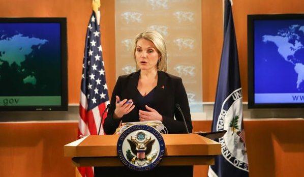 пресс-секретарь Госдепартамента США Хизер Науерт