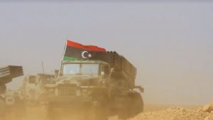 Ливийская армия освобождает Дерну