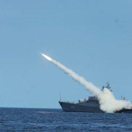 Российский флот нанес ракетный удар по Сирии