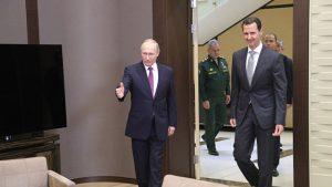 Путин и Асад провели встречу в Сочи