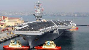 Китай провел испытания своего первого авианосца