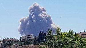 Хама: взрывы на аэродроме и празднование освобождения